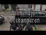 Compilatiefilmpje van het weekendje fietskamperen