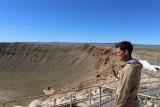 Rob bij Meteor Crater