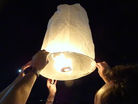 Licht feest in Chiang Mai