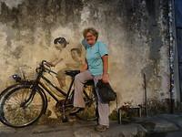 Streetart in Penang.