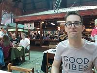 Asado eten in mercado Puerto