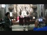 wierookvat zwaaien in kathedraal Santiago de Compostela 2