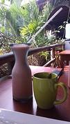 20160720_100828   Kop koffie en een vers sapje