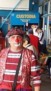 20160910_110403 Clown bij busterminal.1