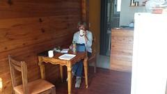 20161104_165710  Dorine in cabaña Tandil