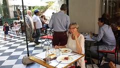 20161110_142543  Lunchen in de tuin Museum Eva Peron