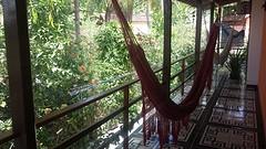 37.Uitzicht vanaf ons balcon.