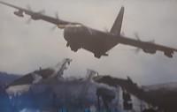 114.Overvliegende Amerikaanse bommenwerper