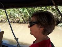 142.Dorine op het water