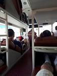188.Mijn uitzicht in sleeping bus