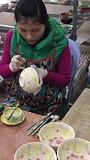 In Ba Tran, het pottenbakkersdorp