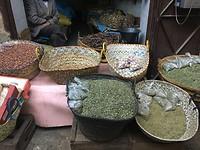 Kruiden in de Medina van Fes