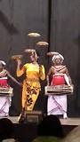 Culturele dansshow Kandy.