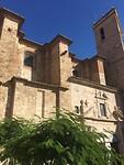 Zijkant kathedraal Segorbe