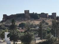 Het stoere Moorse kasteel van Silves.