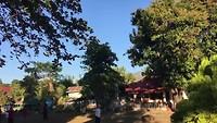 Tai Chi in het park bij de tempel.