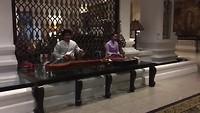 Traditionele muziek in hotel Chiang Mai Plaza.