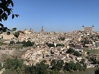 Uitzicht op Toledo