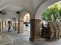 Arcade aan de Plaza Mayor
