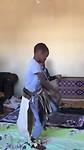 zulu-dans door jongetje