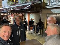 Dag 23, Burgos nachtleven op straat