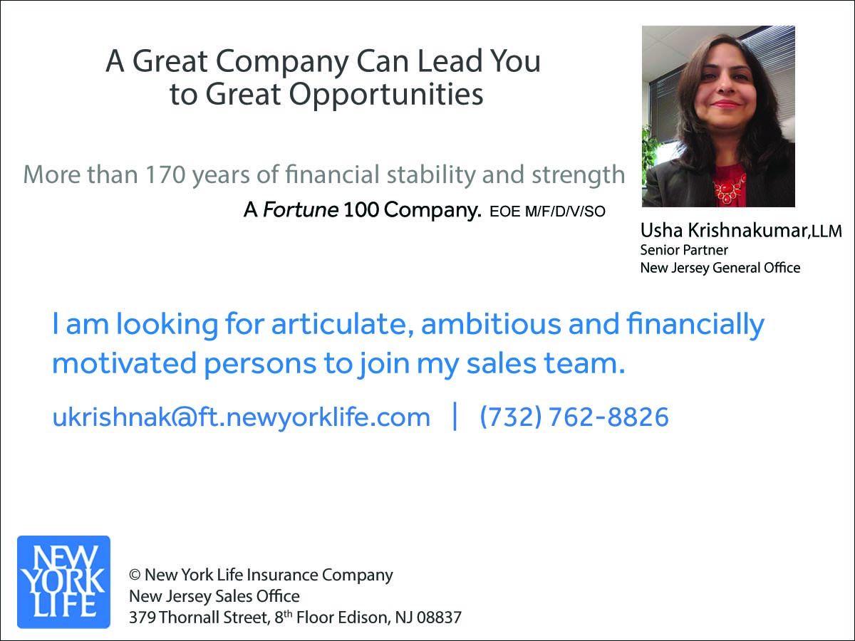 Local Services   Financial Services   Usha Krishnakumar, LLM