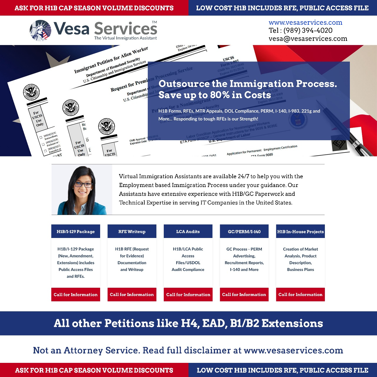Local Services | Professional Services | Low Cost H1B/I-129