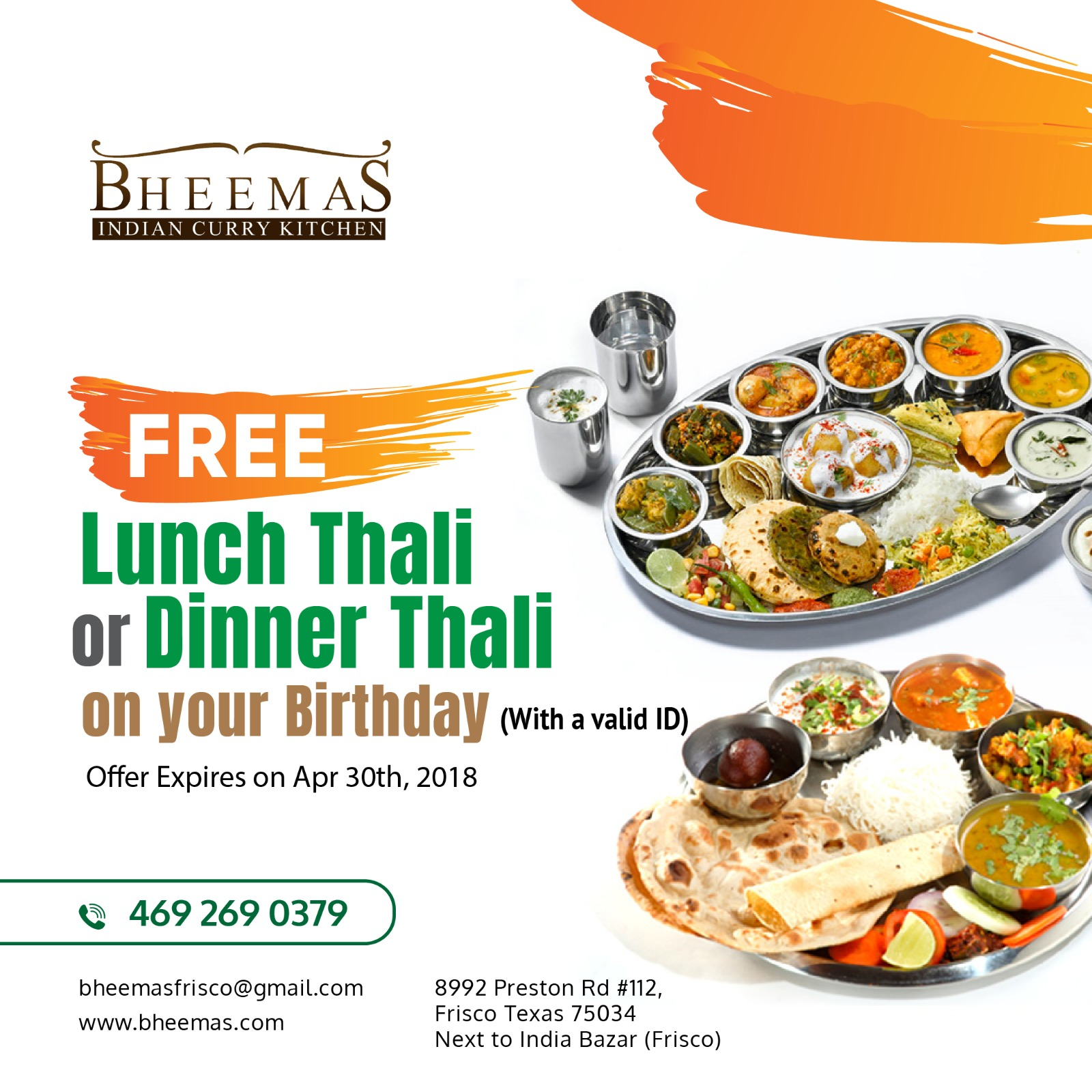 Local Services | Food and Catering | BHEEMAS Indian Curry Kitchen in ...