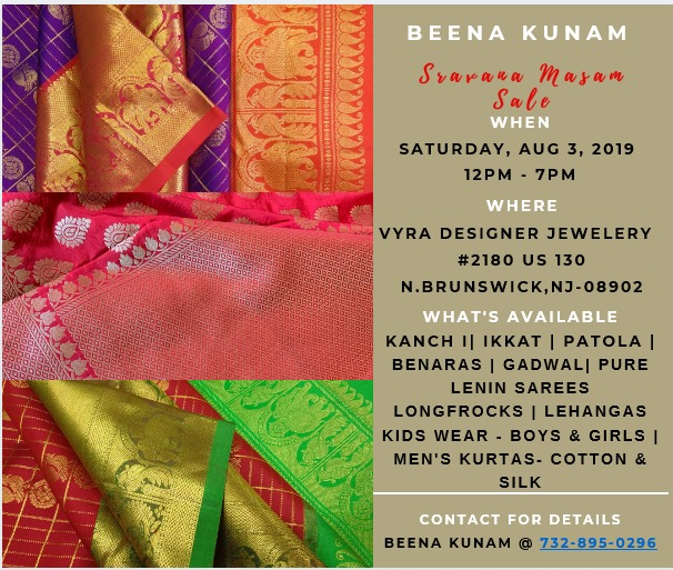 Local Services | Shopping | Sravana Masam Sale BY BEENA KUNAM in N