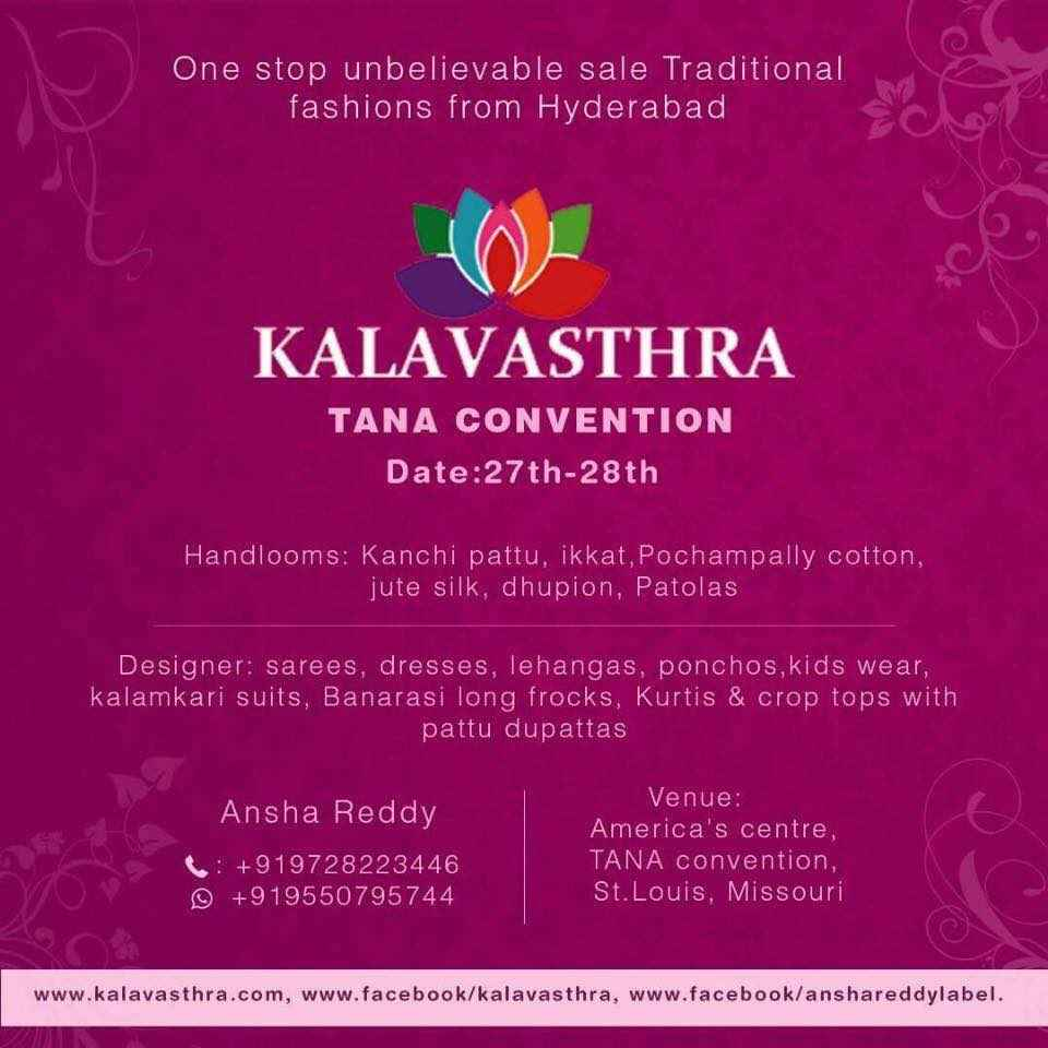 KALAVASTHRA Collections - One stop unbelievable sale traditional fashions from Hyd
