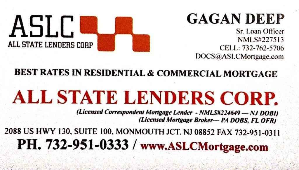 ASLC - BEST RATES IN RESIDENTIAL AND COMMERCIAL  MORTGAGE