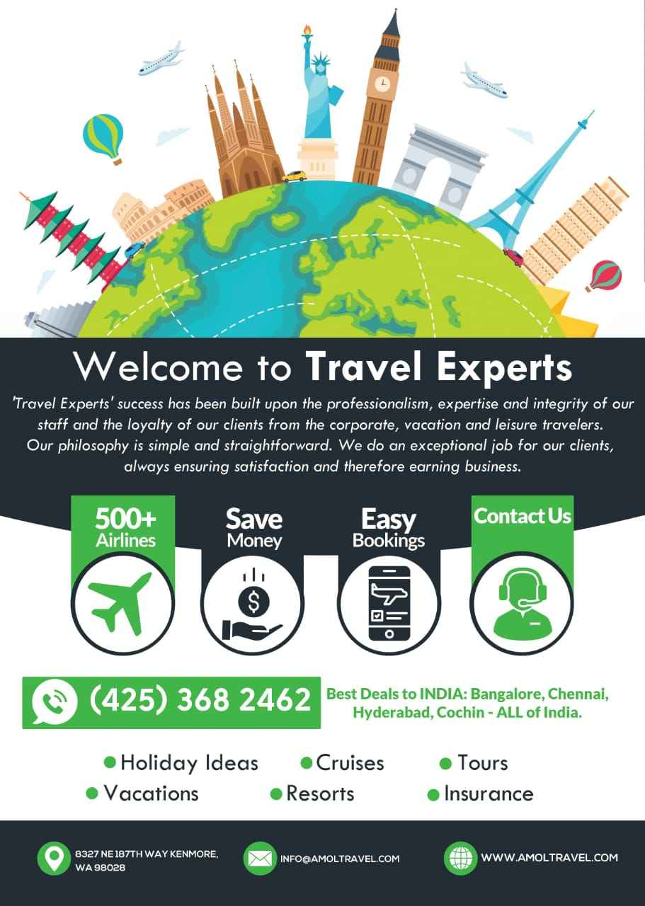 Travel Experts(Travel brings Power and Love back to your Life)