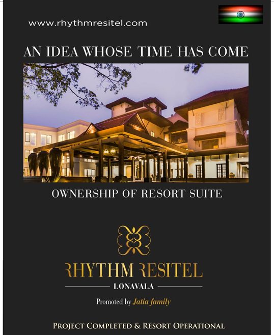Rhythm Resitel - Invest in An Operational Resort Suite Unit Near Mumbai