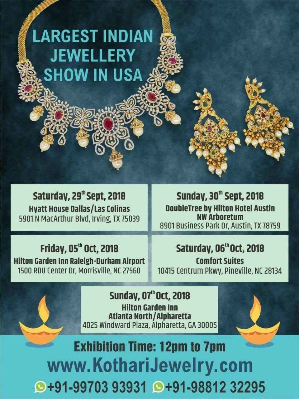 LARGEST INDIAN JEWELLERY SHOW IN USA