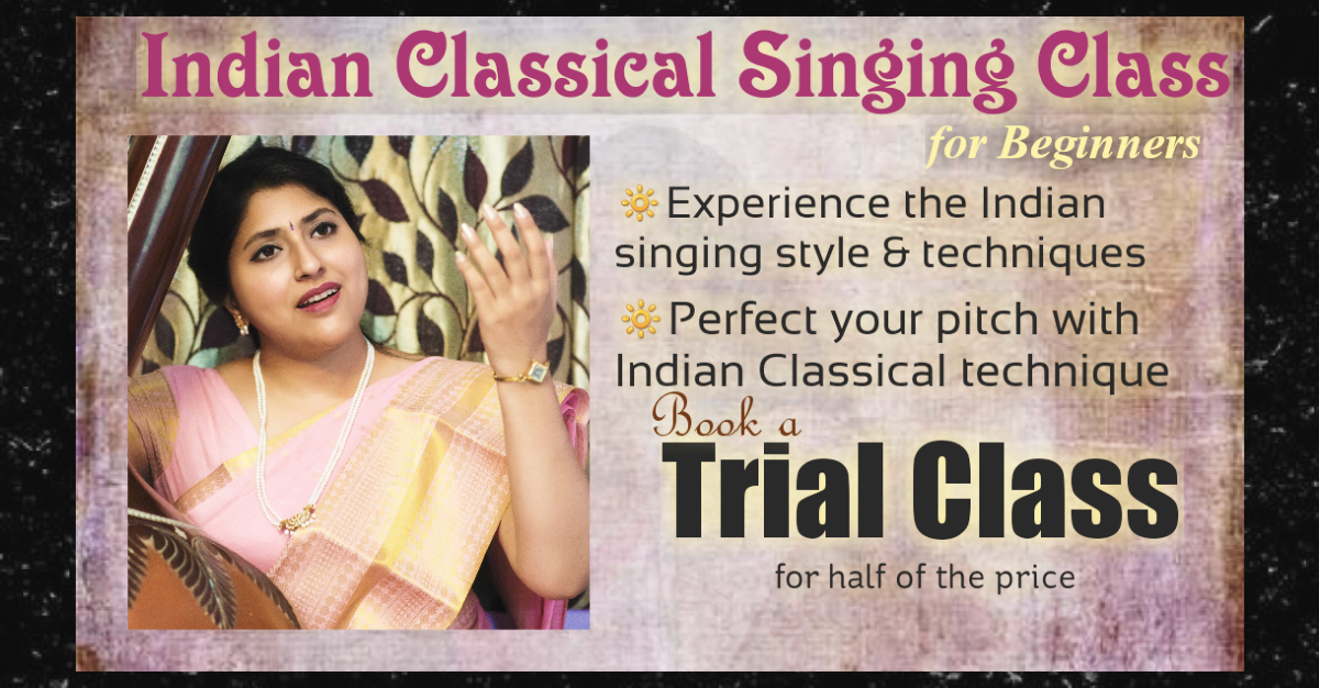 Indian Classical Music Singing Class in NewYork or Online