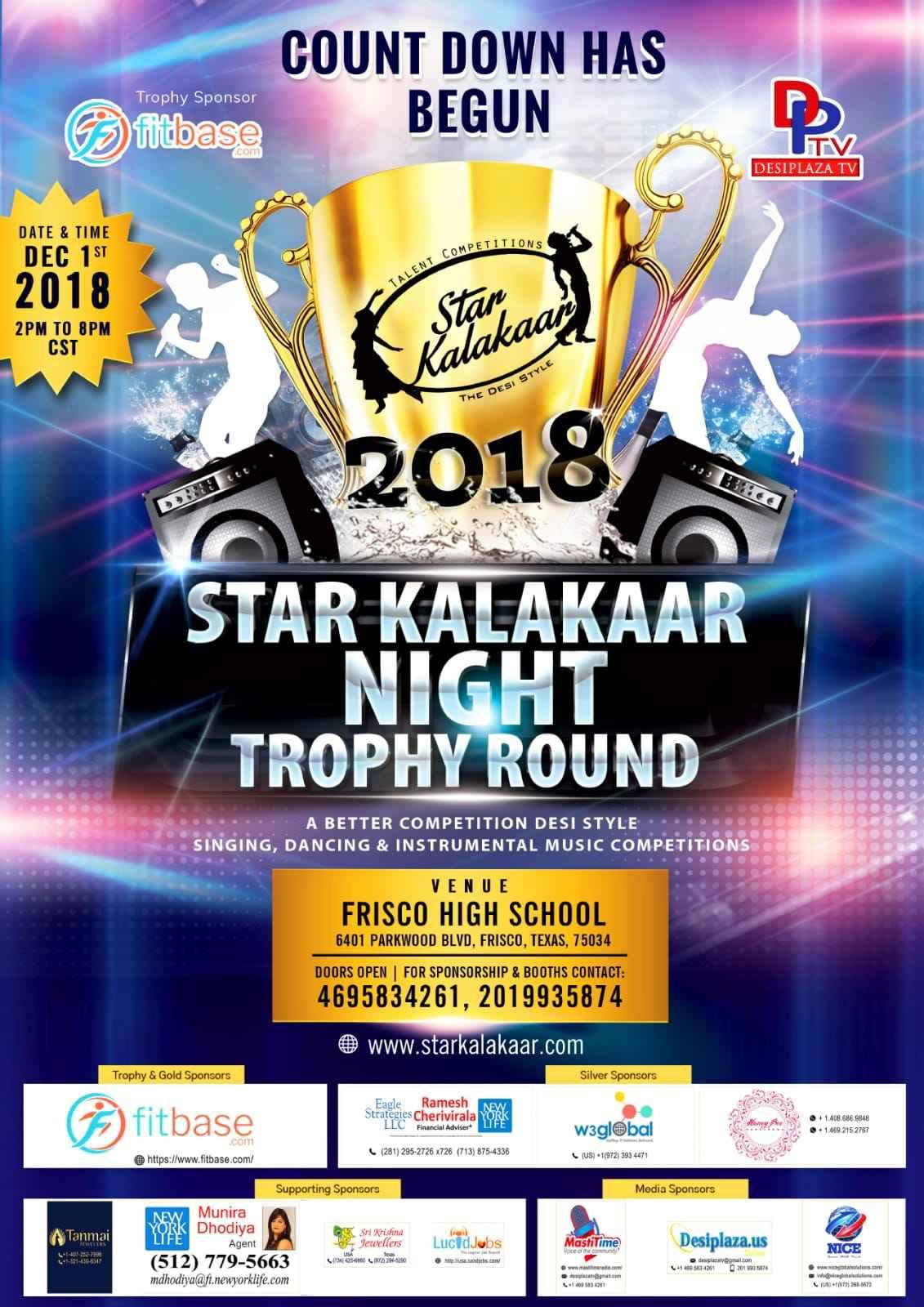 Star Kalakaar Night - 2018