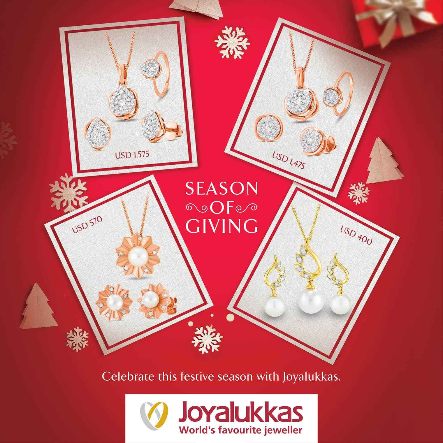 Season of Giving at Joyalukkas - Limited Special Now at Store!