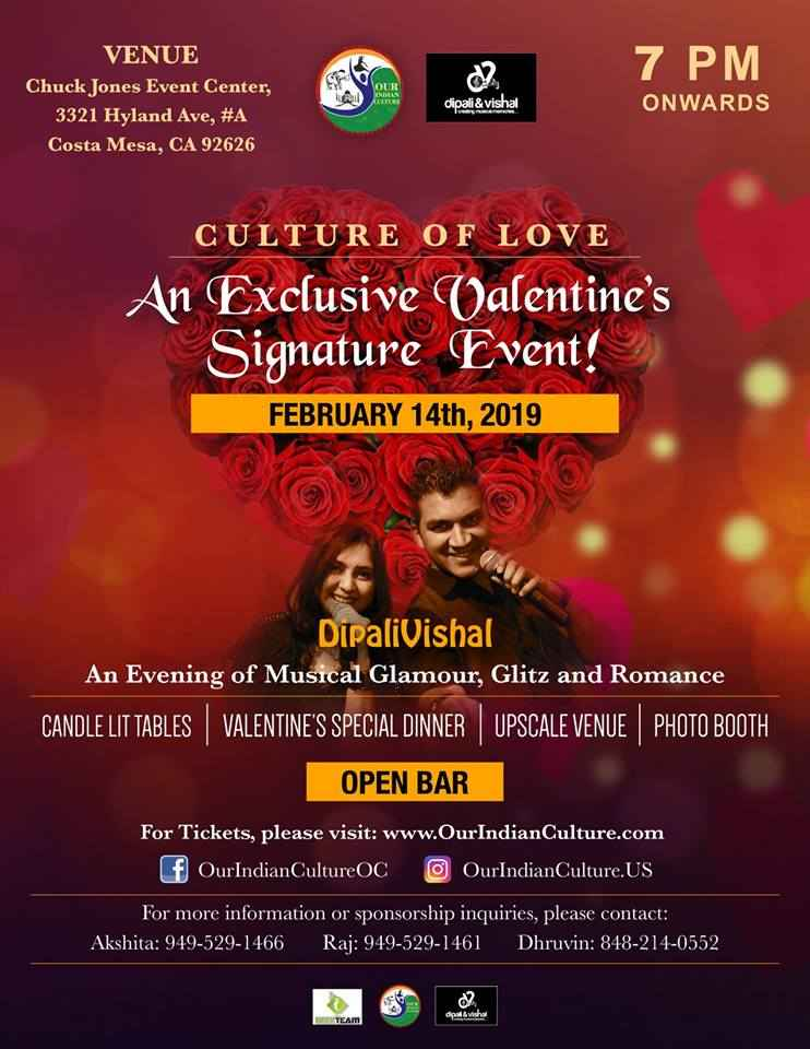 Culture of Love - An Exclusive Valentine's Signature Event