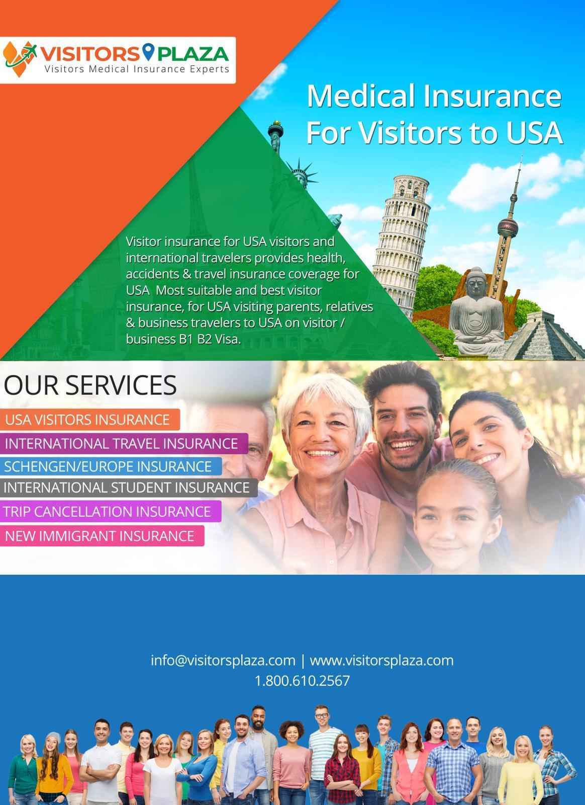 Medical Insurance For Visitors to USA