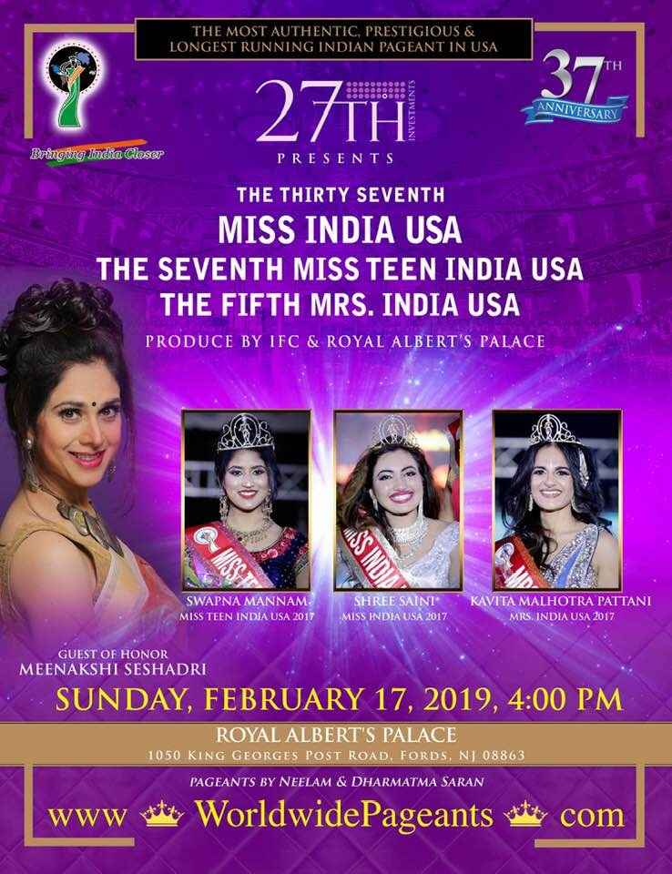 The Thirty Seventh Miss India USA