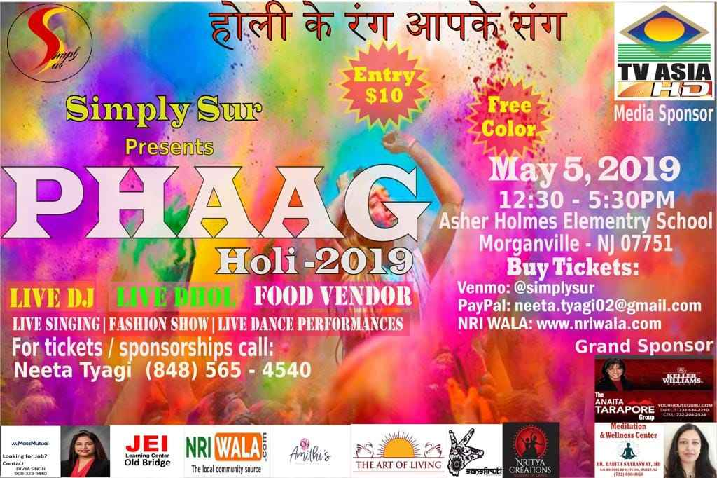 Simply Sur Presents PHAAG Holi 2019