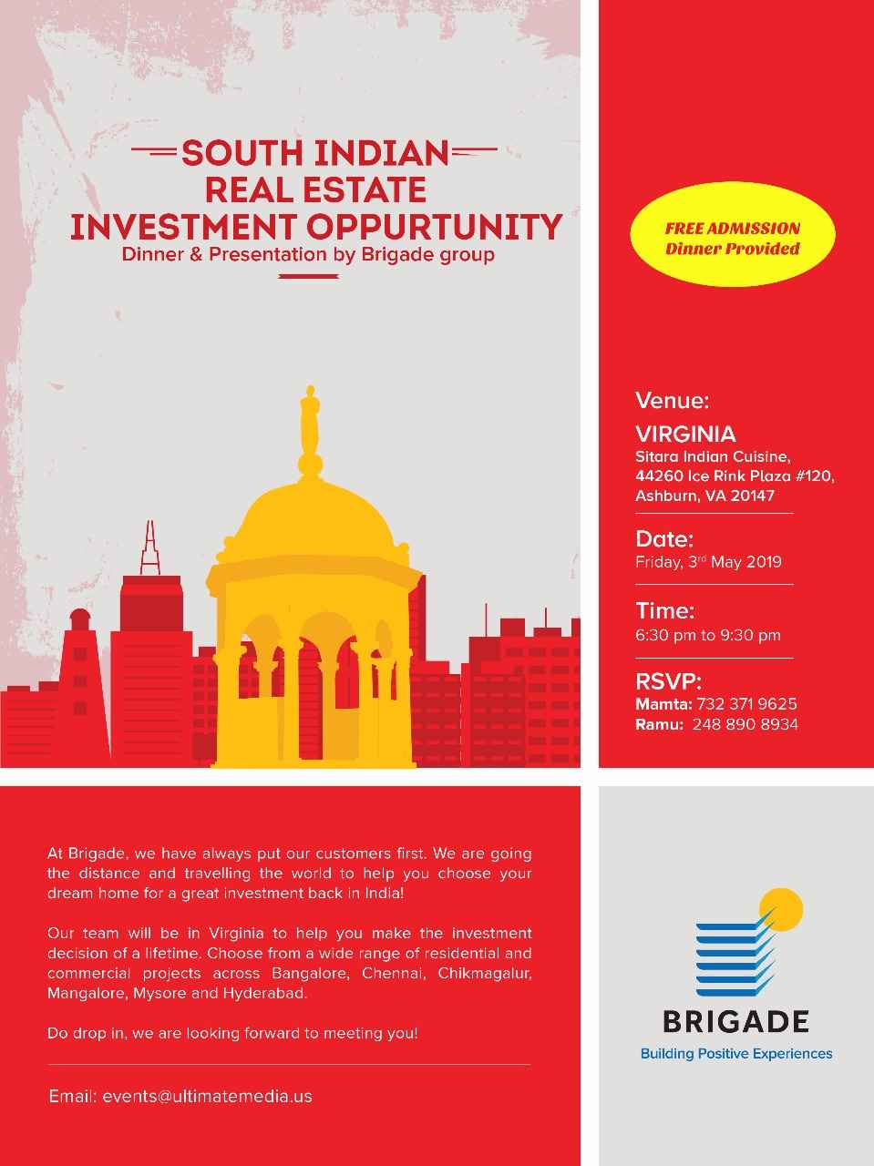 South Indian Real Estate Investment Oppurtunity