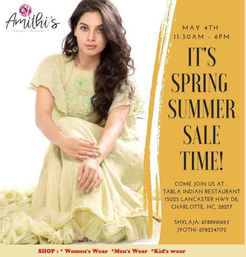 Amithi's Designer Exclusive Ugadi Sale