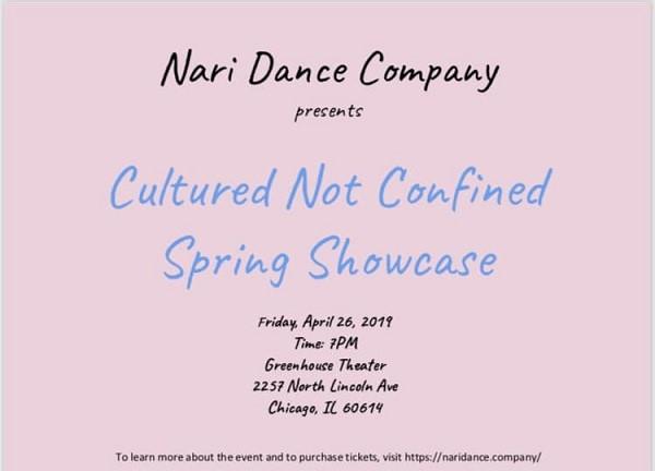 Nari Dance Company's Spring Showcase