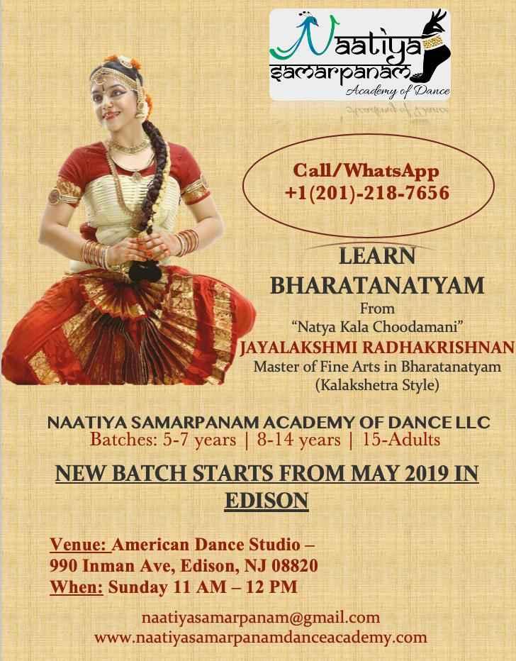 Learn Bharatanatyam