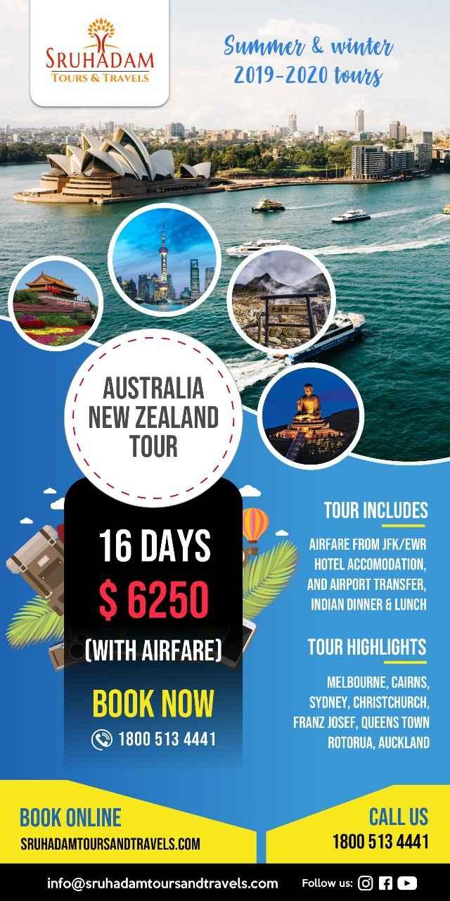 Australia-New Zealand-16 Days tour