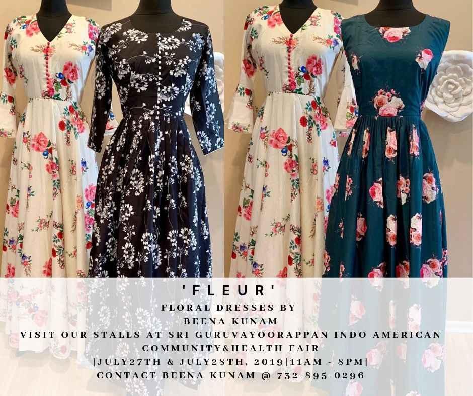 FLEUR - Floral Dresses by BEENA KUNAM