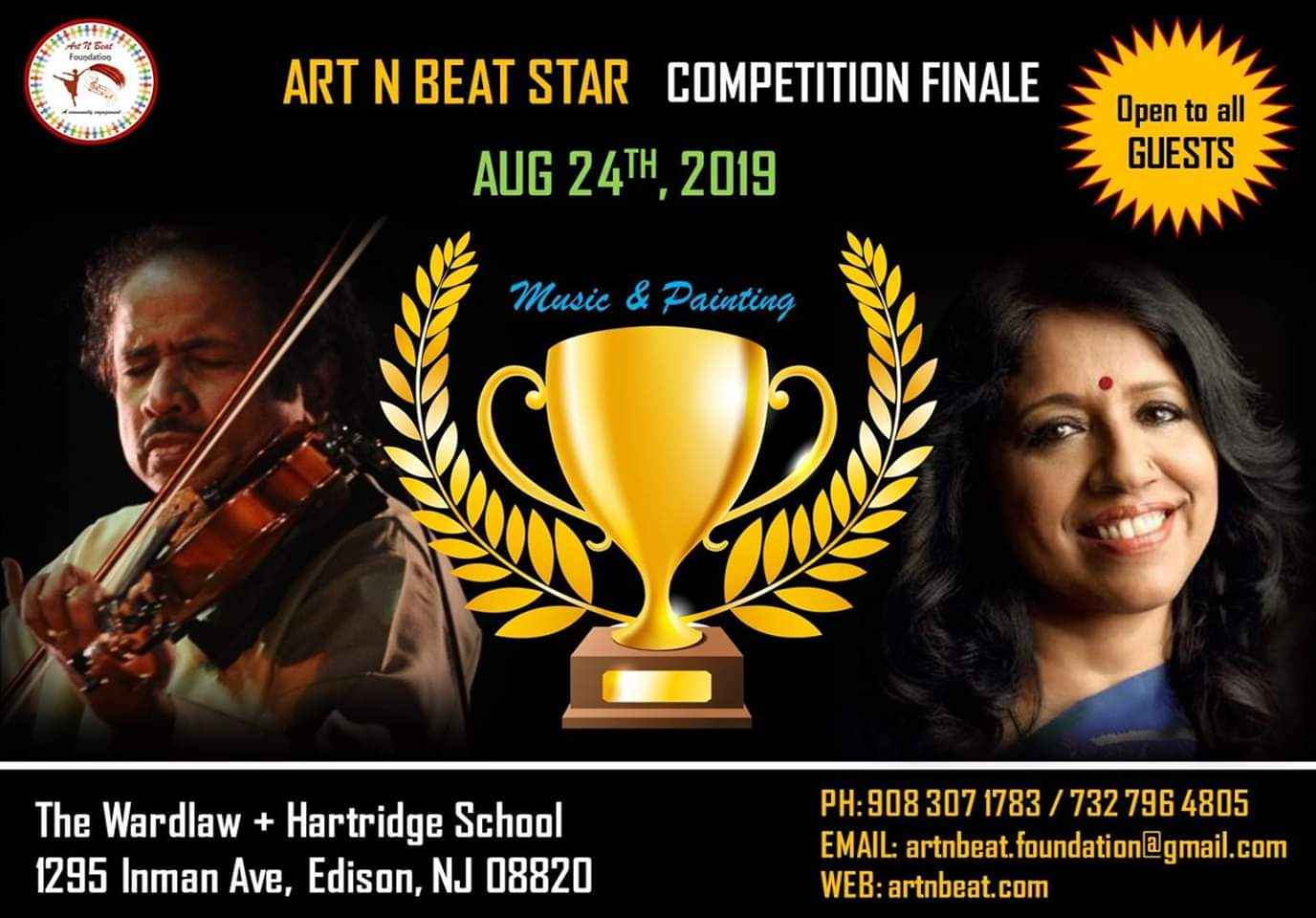 ART N BEAT STAR COMPETITION FINALE - Music & Painting