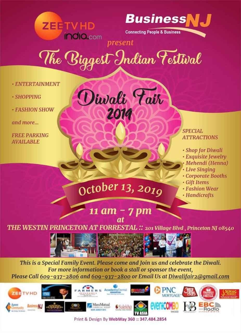 Diwali Fair 2019 - The Biggest Indian Festival