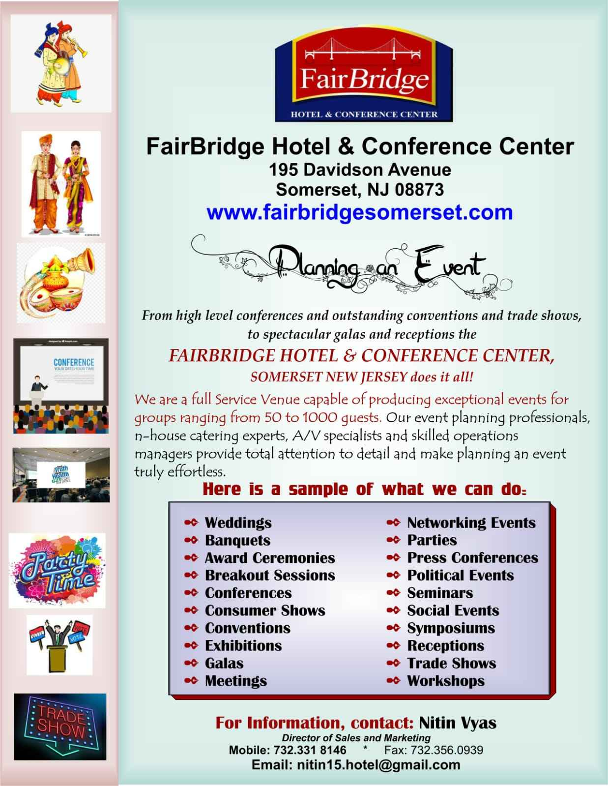Planning an Event - FairBridge Hotel & Conference Center